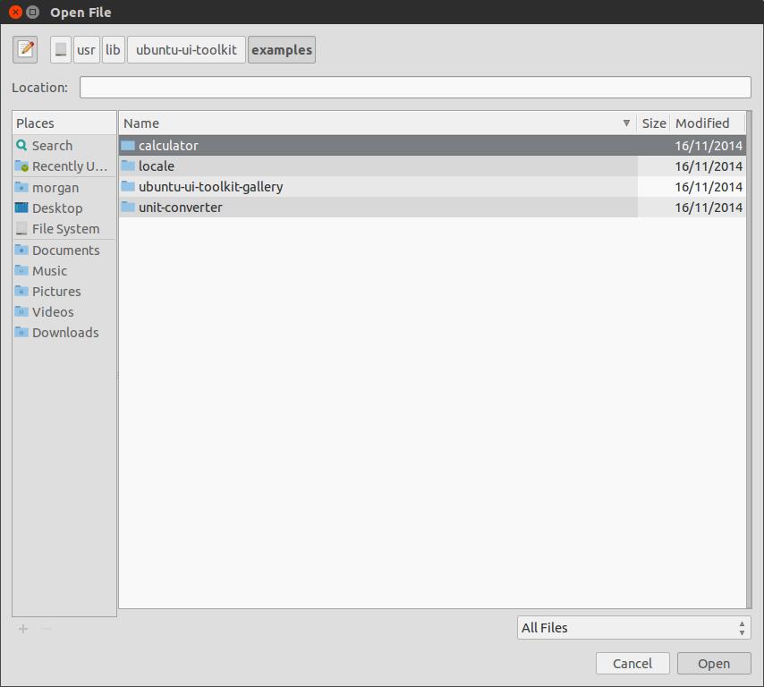 liste des applications de démonstration ubuntu